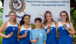 Crew Finishes Season with a Silver at Nationals