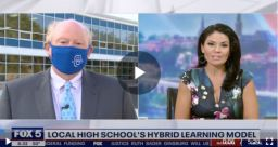 Hybrid Model Featured on Morning News