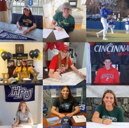 Fall Student-Athlete Signing Ceremony
