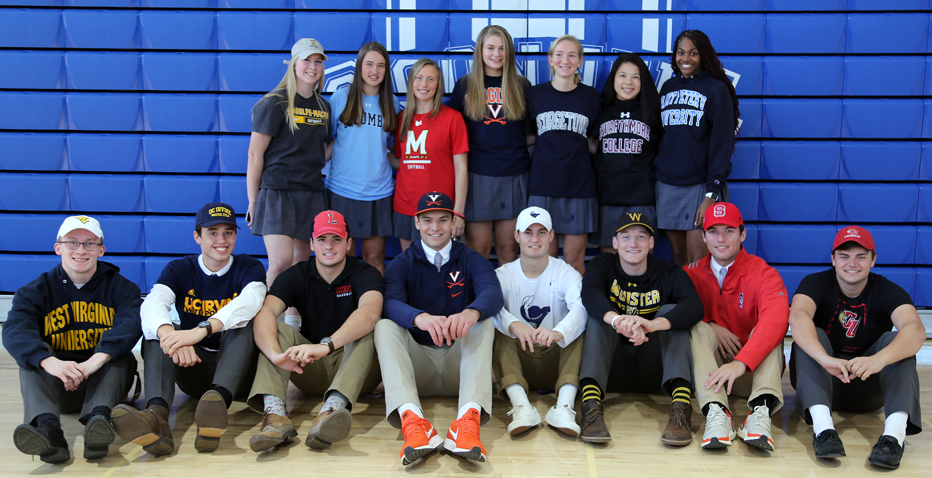 Fall 2019- College Commits