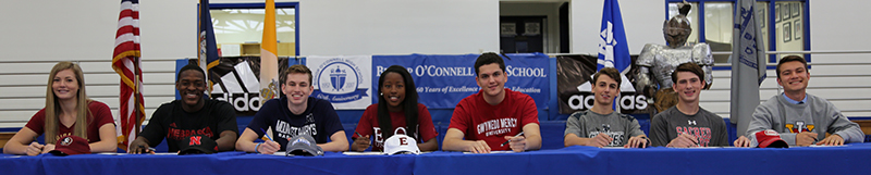 Fall 2017 - College athlete signing ceremony