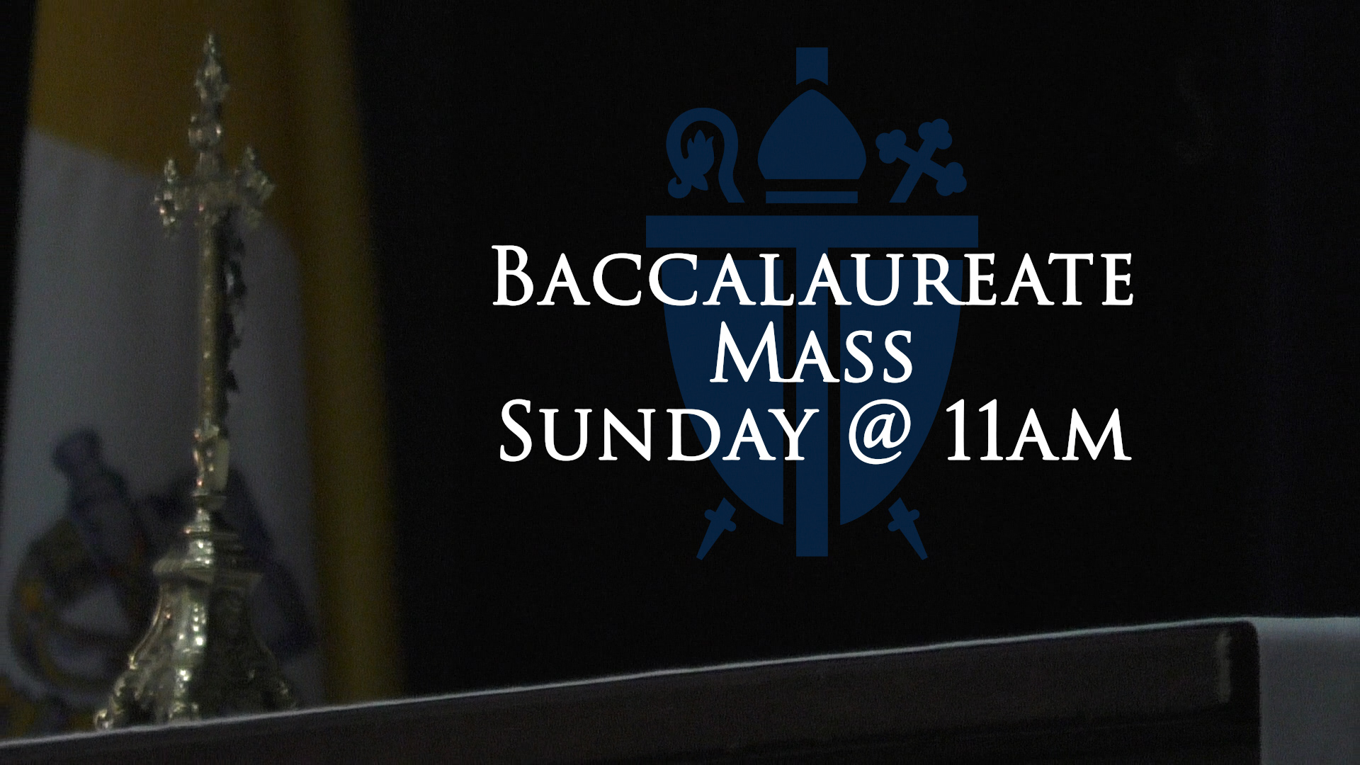 Baccalaureate Mass Cover